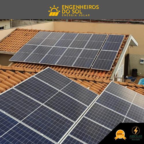 Projeto Energia Solar - Sistema fotovoltaico de 24 painéis - Douradina - PR