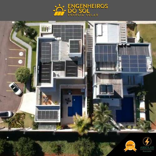 Projeto Energia Solar - Sistema fotovoltaico de 26 painéis - Maringá - PR