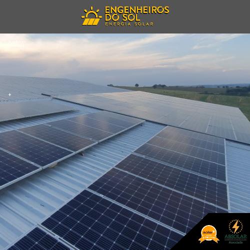 Projeto Energia Solar - Sistema fotovoltaico 102 painéis - Iporã - PR