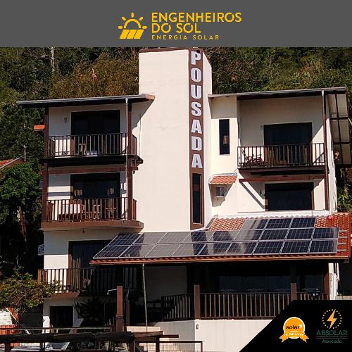 Projeto Energia Solar - Sistema fotovoltaico 22 painéis - Bombinhas - SC
