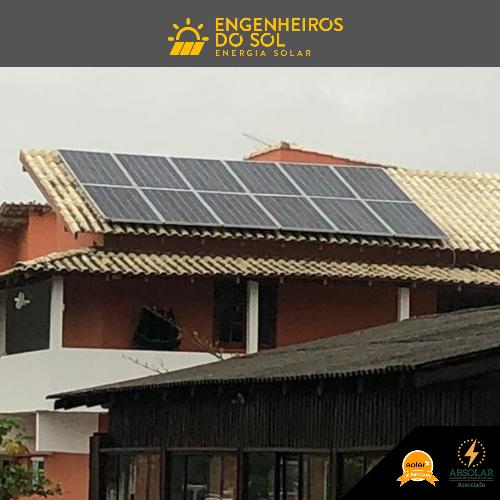 Projeto Energia Solar - Sistema fotovoltaico de 12 painéis - Navegantes - SC