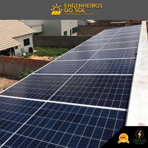 Projeto Energia Solar - Sistema fotovoltaico de 14 painéis - Paranatinga - MT