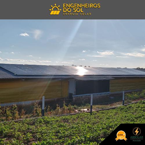 Projeto Energia Solar - Sistema Fotovoltaico de 96 placas - Crissiumal - RS