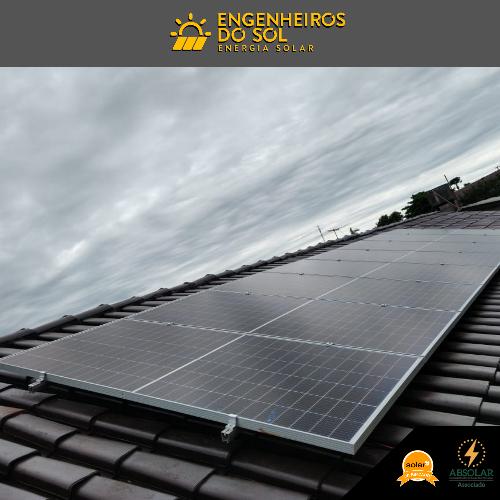 Projeto Energia Solar - Sistema Fotovoltaico de 08 placas - Crissiumal - RS